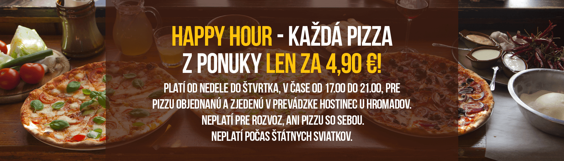 Happy Hour 4,90 €